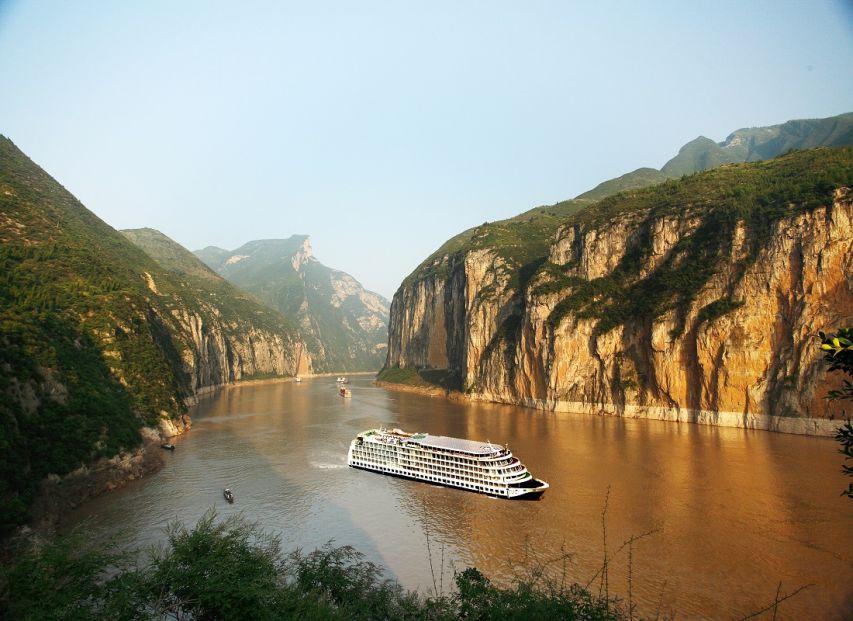 Qutang Gorge on the Yangtze River Century River Cruises