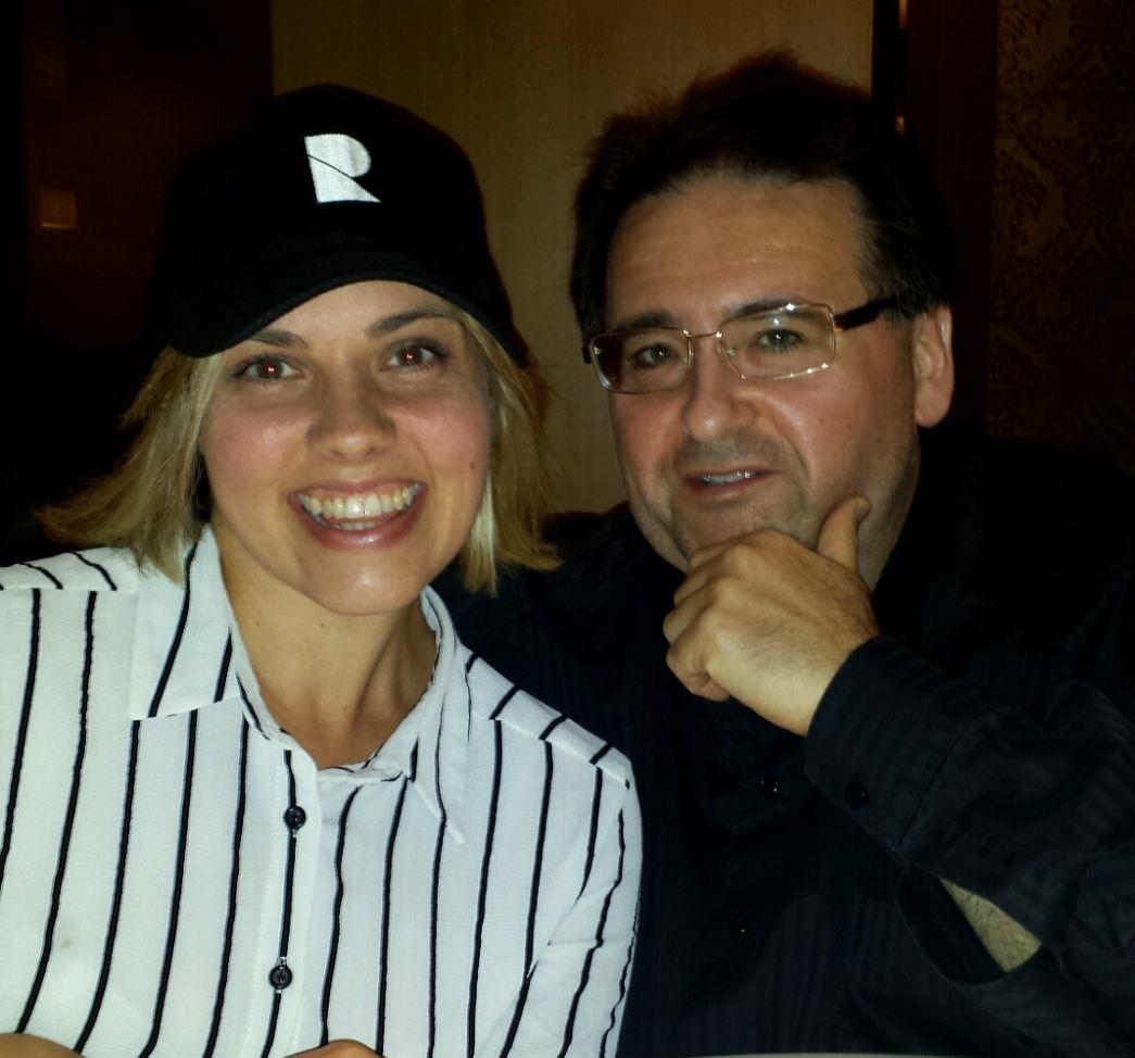 Piper McGregor, with Satellite Agency Inc. President, Joey Sulfaro.