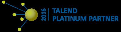 2016 Talend Global Platinum Partner