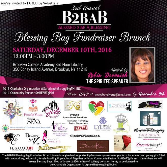 2016 B2BAB - Brunch Fundraiser