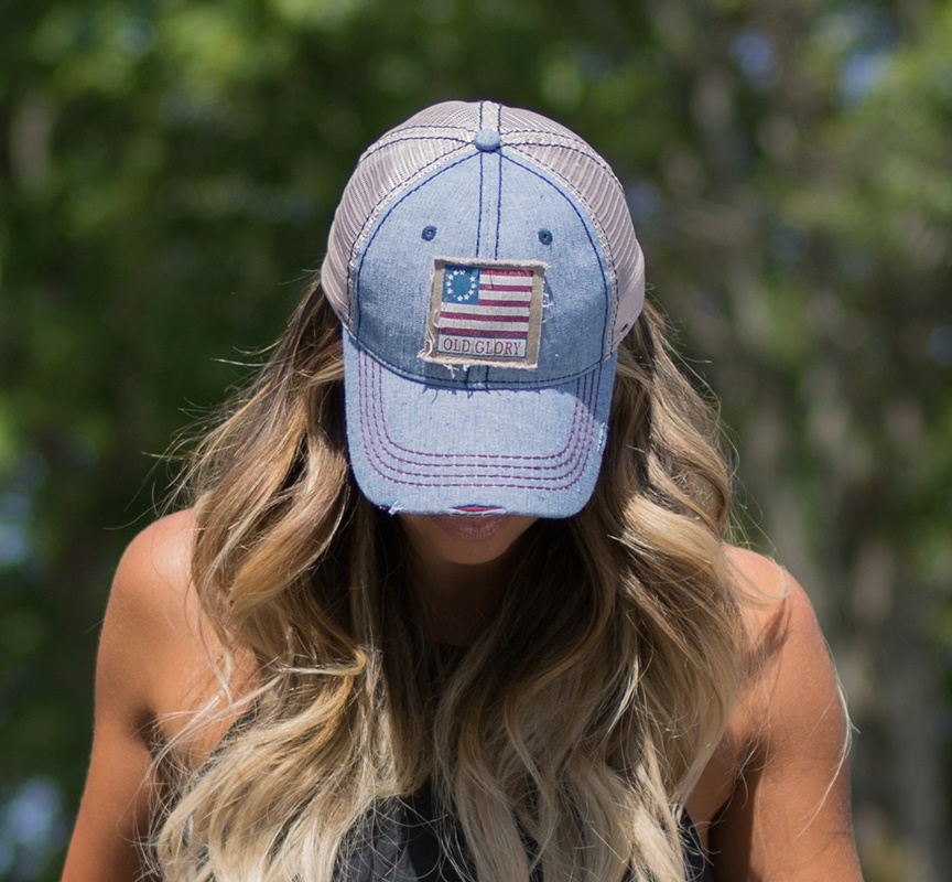Nogginwear Old Glory Hat