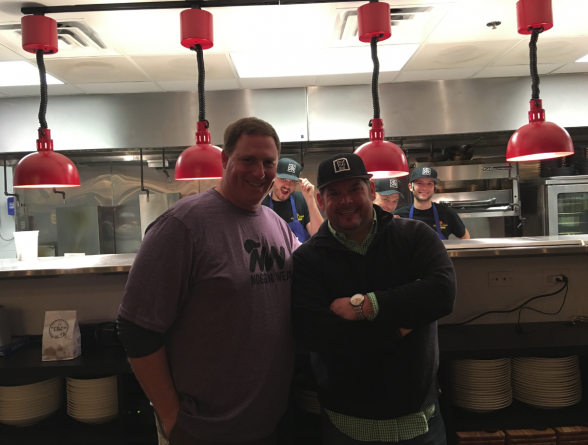 Nogginwear CEO Scott Weldon & Chef Brian Duffy