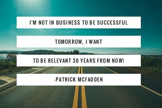 Patrick Mcfadden sales & marketing