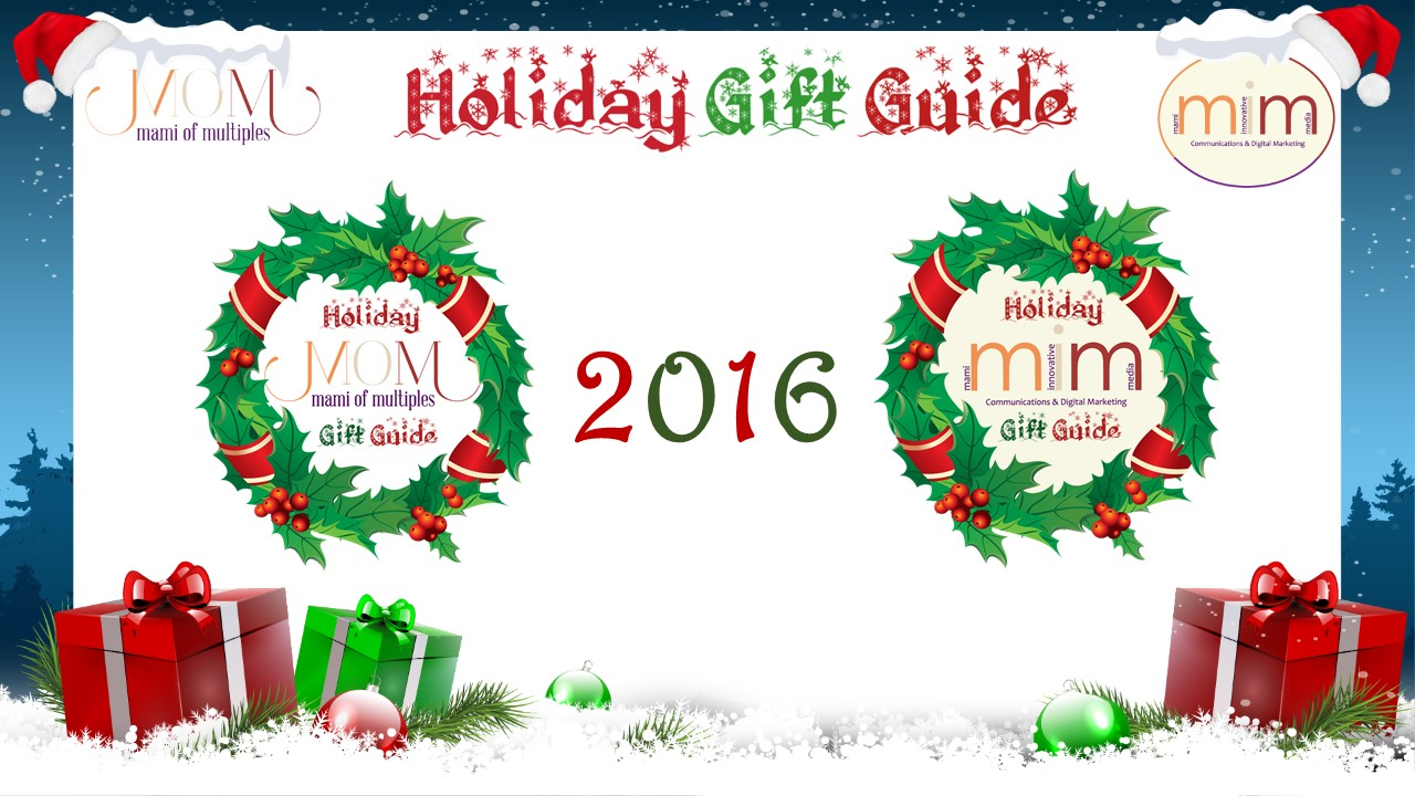 Mami of Multiples & Mami Innovative Media 2016 Holiday Gift Guide