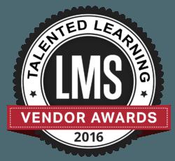 Talented Learning LMS Vendor Awards 2016