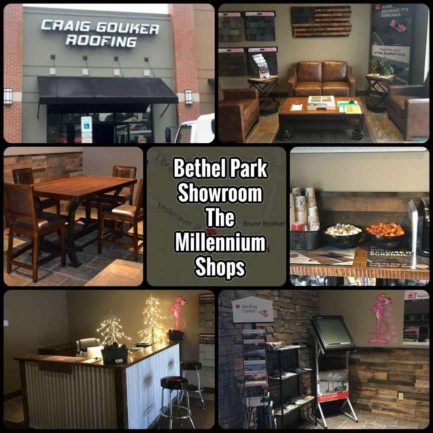 Craig Gouker Roofing Bethel Park Showroom Now Open