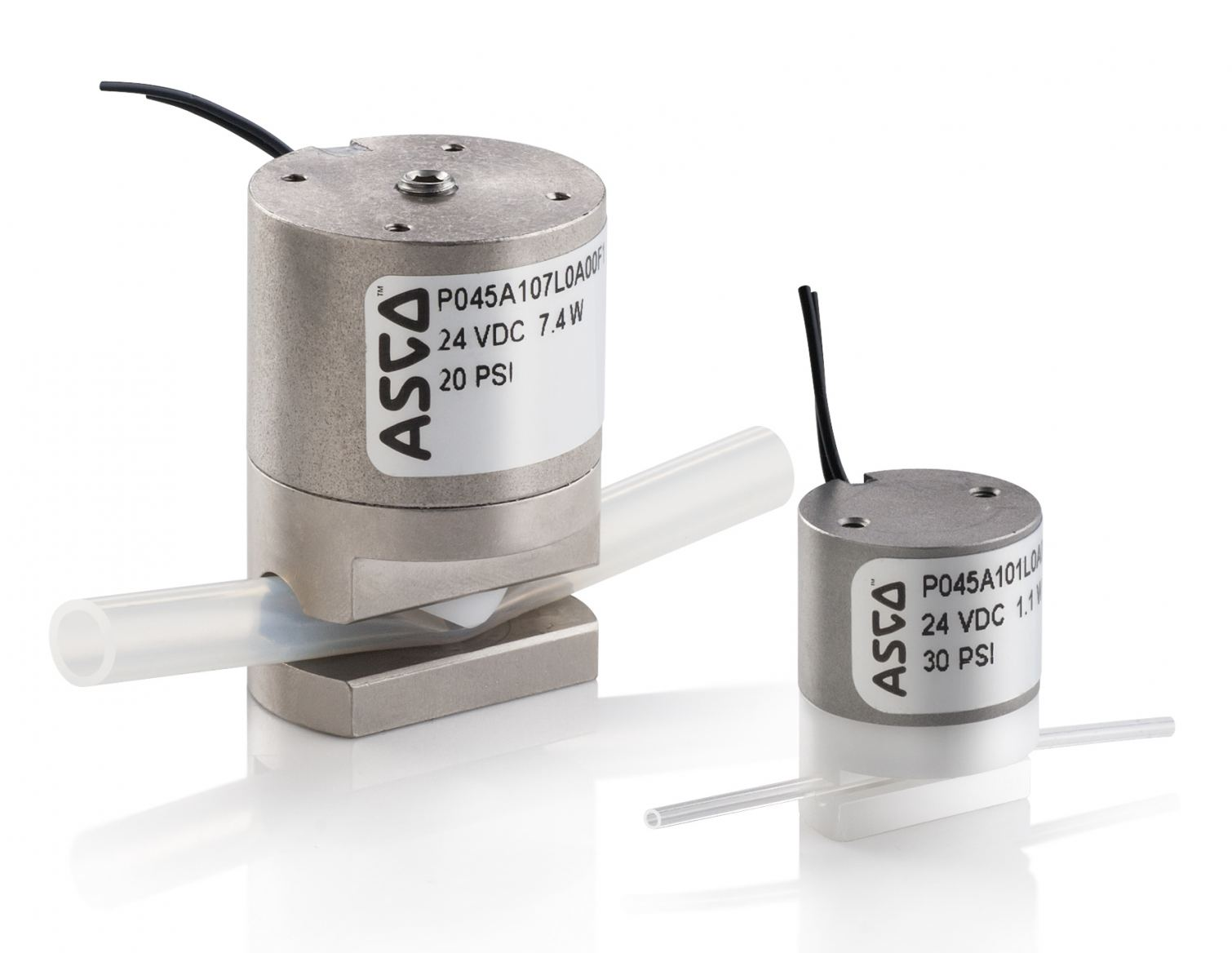 ASCO 045 Series Pinch Valves with Low Heat Transfer to Protect Liquid Media
