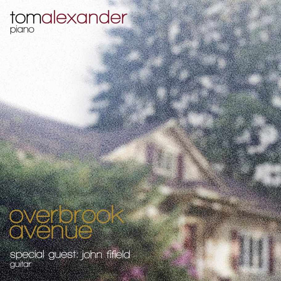 "Front cover of Tom Alexander's ""Overbrook Avenue"" album."