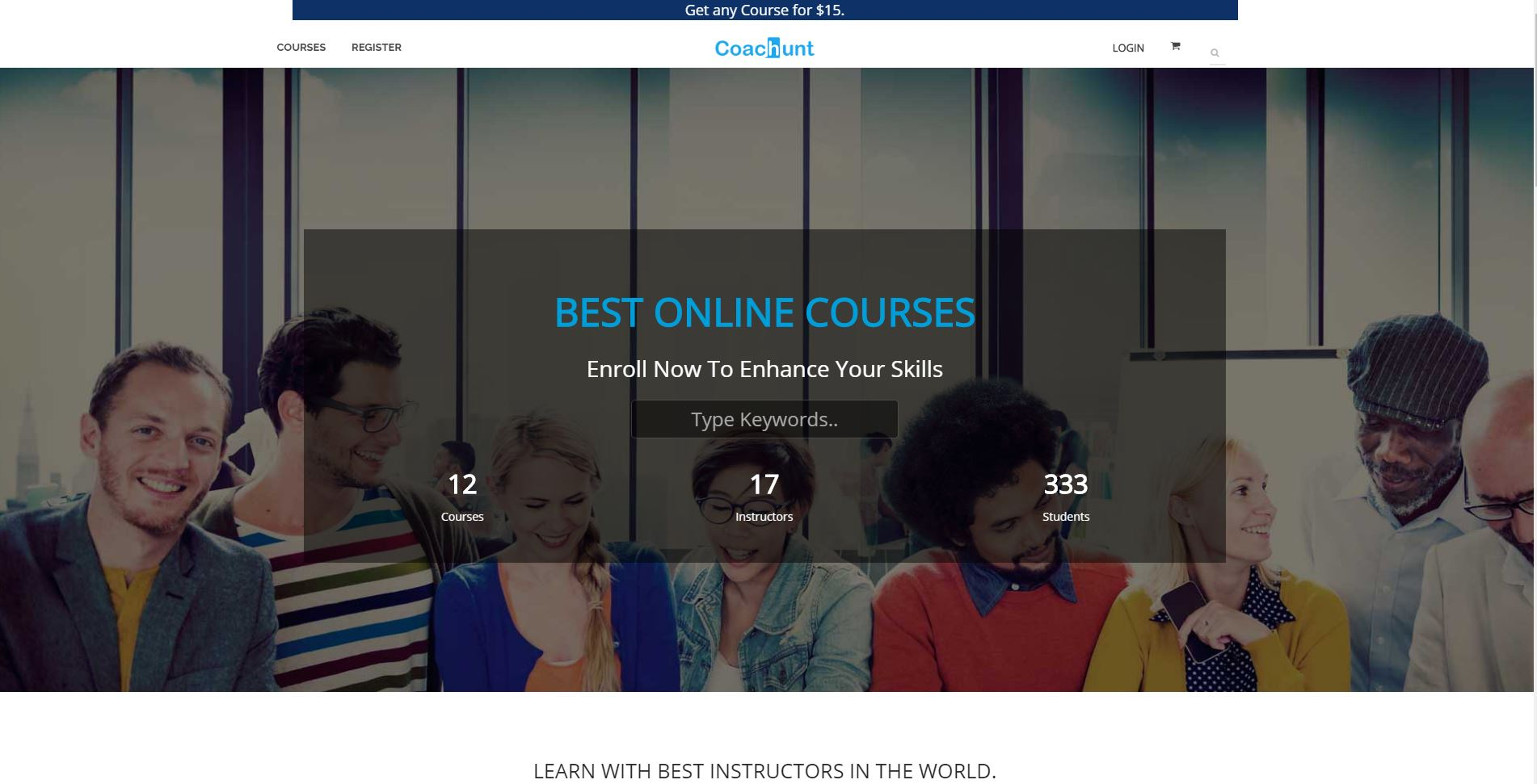 Learn Online Courses Anytime