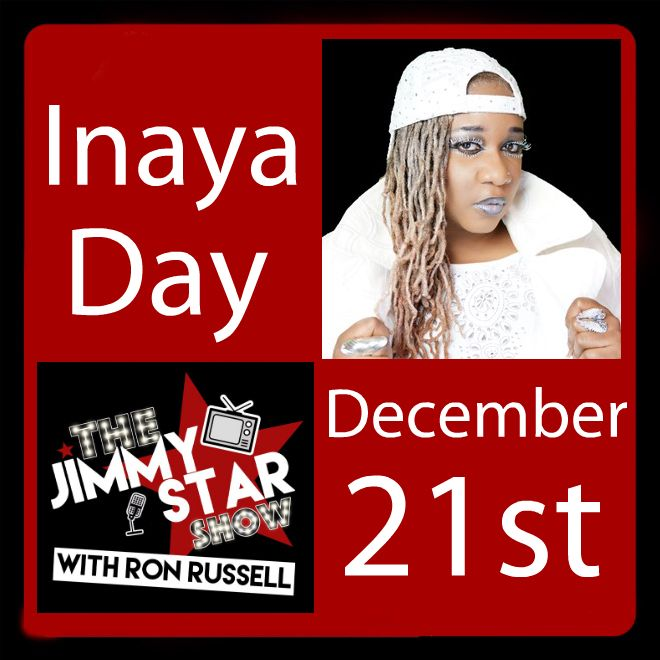 Inaya Day on The Jimmy Star Show With Ron Russell