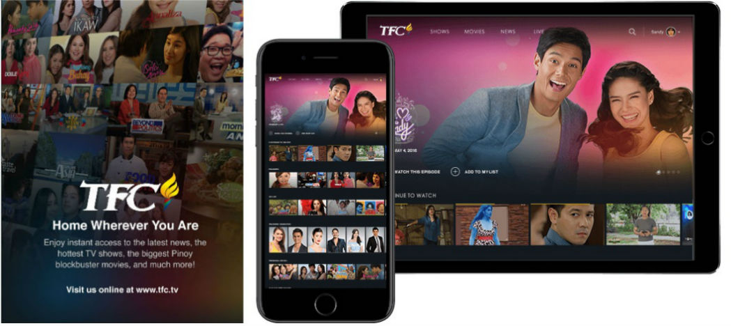 TFC Online: One-stop destination for all Filipino content