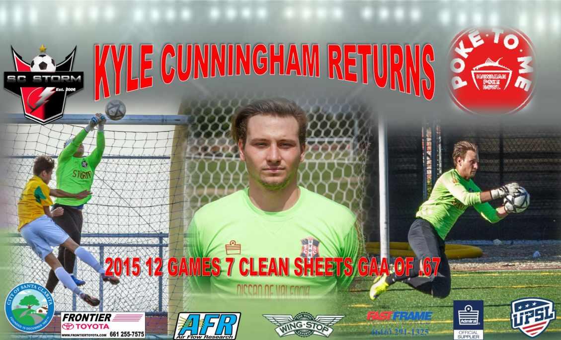 Storm signs Kyle Cunningham