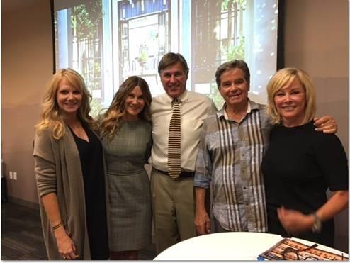 Carina Hathaway, Bill Davidson, John Martin, Dawn Davidson at ULI Forum