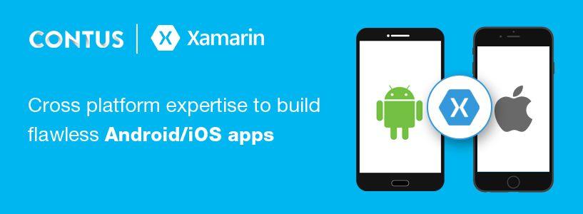 contus xamarin mobile app development