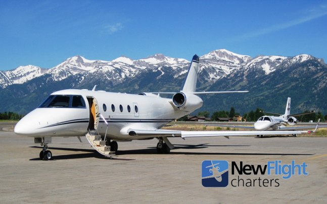 Private jet charters with industry leader New Flight Charters, since 2004