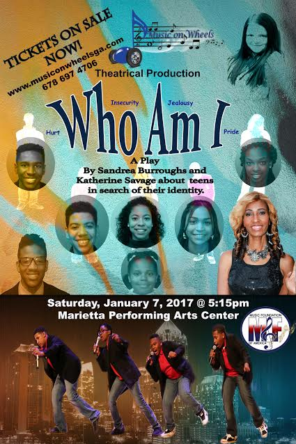 """Who Am I"" Flyer"