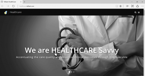 Telliant_Healthcare_Website