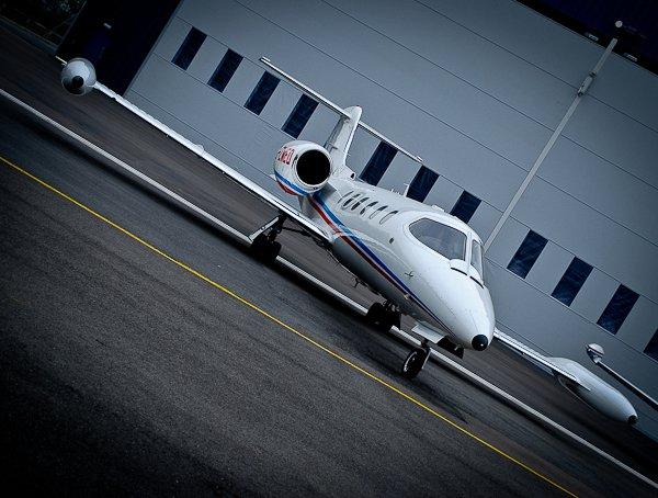 HAA air ambulance jet