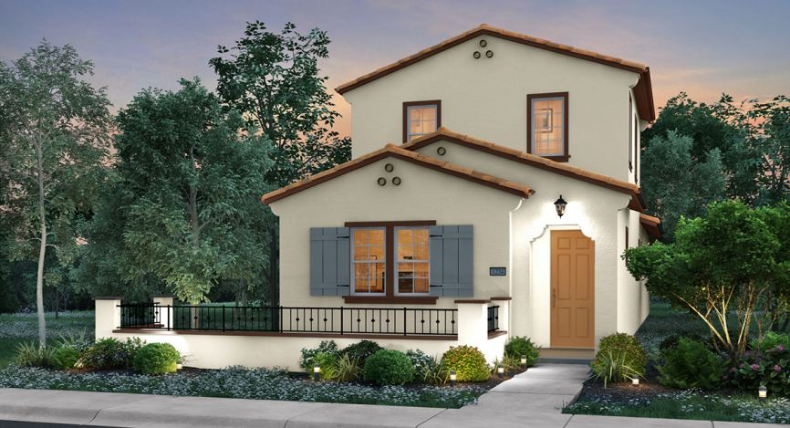 Montecito Walk at WestPark brings a fine collection of new homes to Roseville.