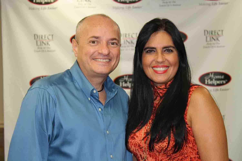 Ramon Miceli and Desiree Rodriguez