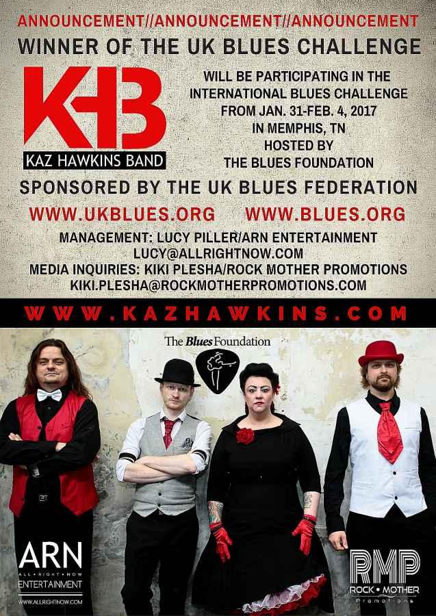 Kaz Hawkins Band and the IBC