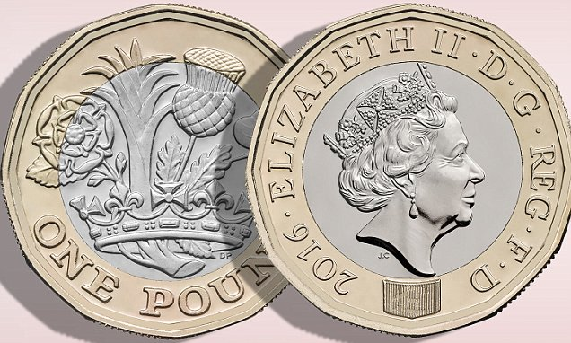 New 1 Pound Coin UK