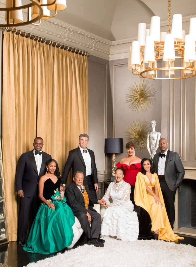 UNCF Mayor's Masked Ball With Tyrese Gibson, Photo by Derek Blanks.