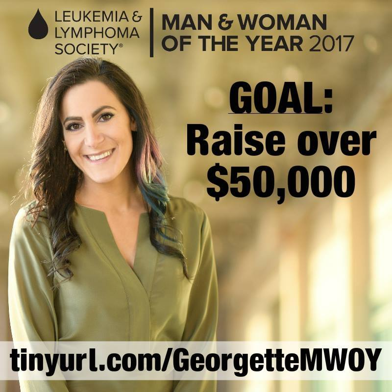 SBA Member Georgette Kyriacou Campaigns for LLS