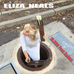 "Eliza Neals ""10,000 Feet Below"" New Detroit Blues-Rock Album on 'E-H Records'"