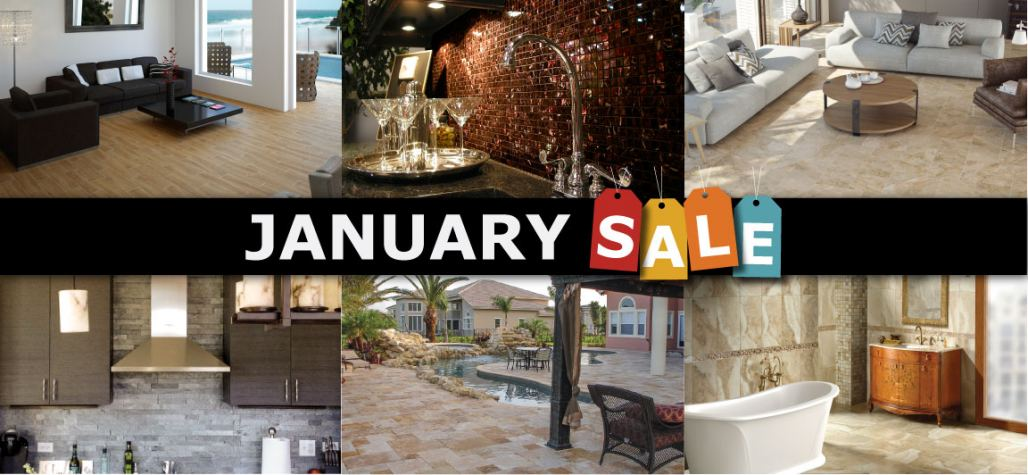 Hurry In For the January Sale Event at Tile Outlets of America