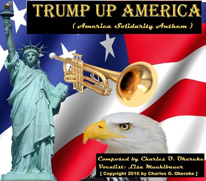 """""""Trump Up America"""" album art"""