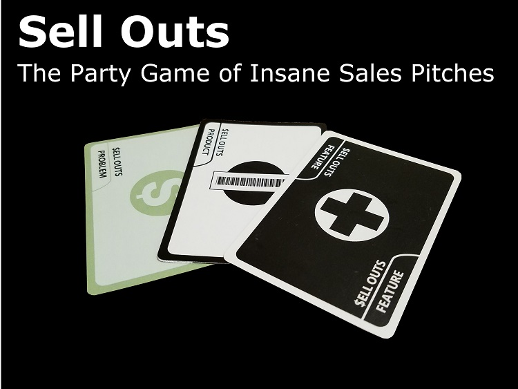 Sell Outs Now Live on Kickstarter