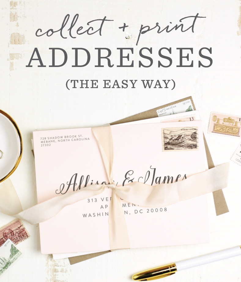 Basic Invite Launches Free Guest Addressing On Baby Shower