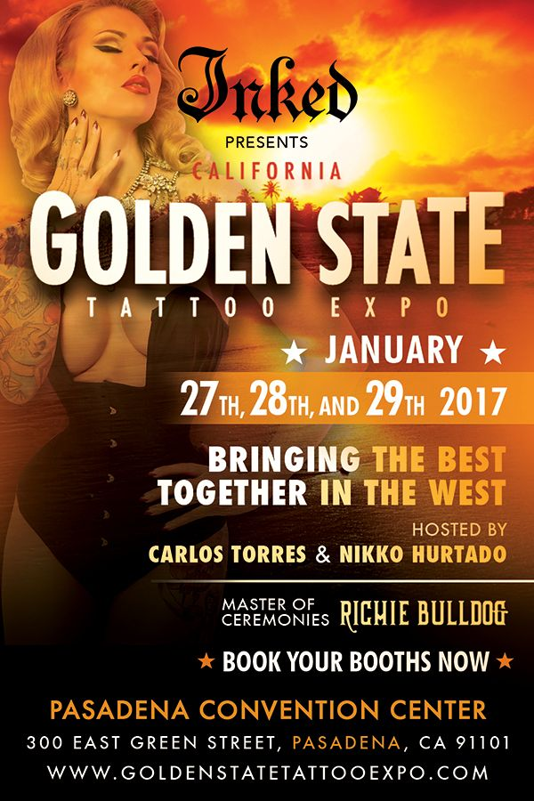 World 39 s greatest tattoo art festival los angeles golden for Tattoo convention los angeles