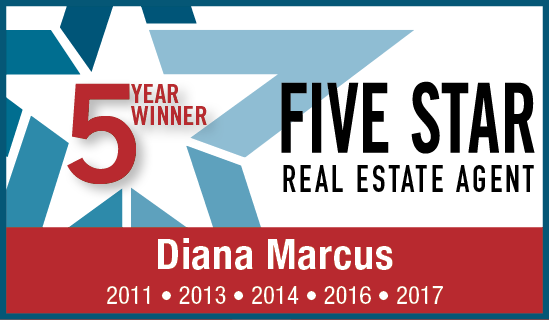 5 Year, 5 Star Award - Diana C. Marcus