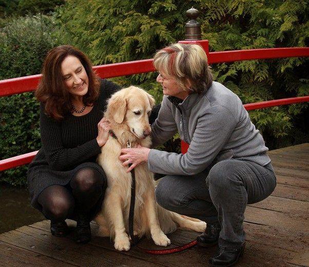 Vicki Draper with Client Vicki and Desi