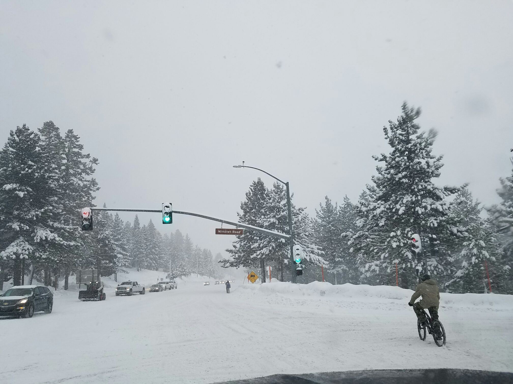 Mammoth is preparing for seven consecutive days of snow.