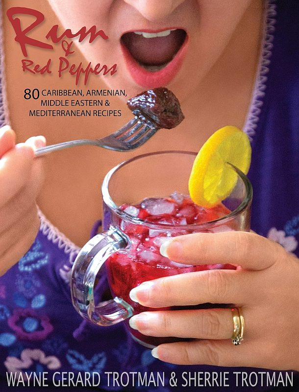 Rum & Red Peppers cover photograph by Wayne Gerard Trotman