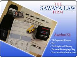 Sawaya Law Firm Free Auto-Accident-kit