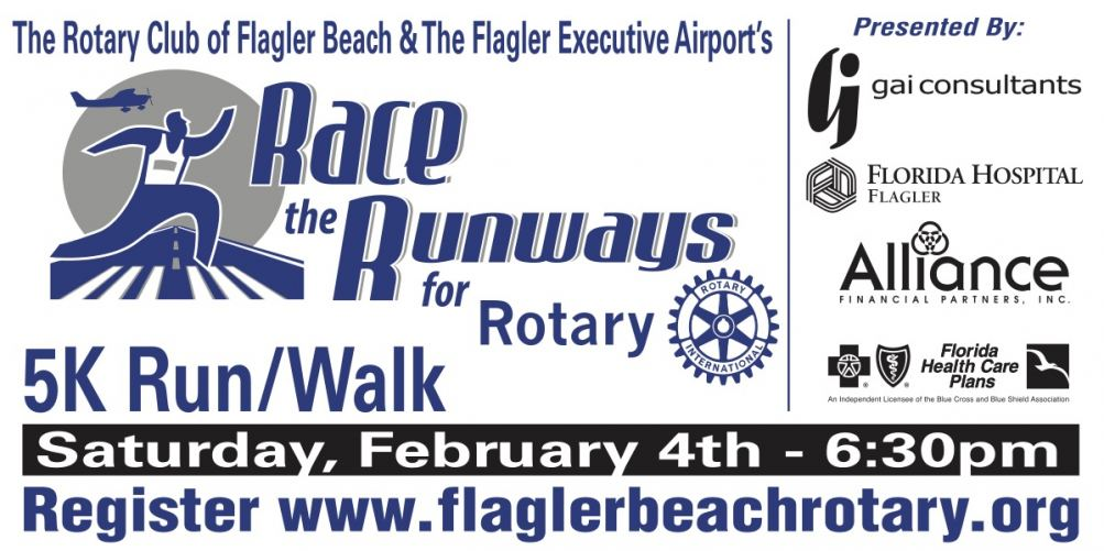 Sign up and race on the tarmac and taxiways of the Flagler Executive Airport.