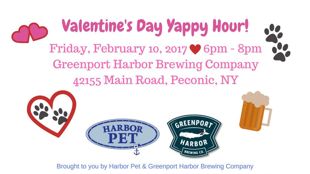 Valentine's Day Yappy Hour!