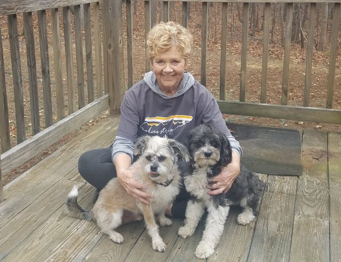 Claire Moxim MCFA board member debuts as hostes of Pets and Their People