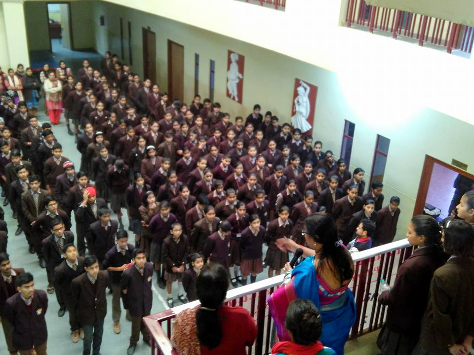 National Girl Child Day Celebrations at JMA Pilani Rajasthan
