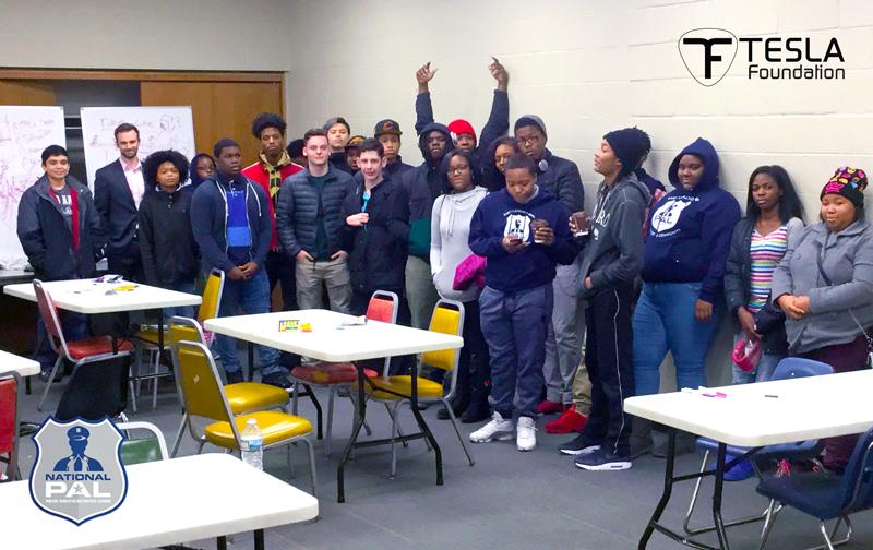 Students in East Cleveland in Tesla List Pilot Program