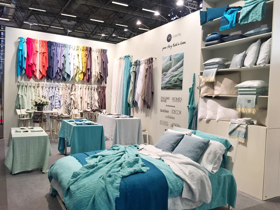 Linenme announces luxurious pure linen textiles for the - Maison objet paris 2017 ...
