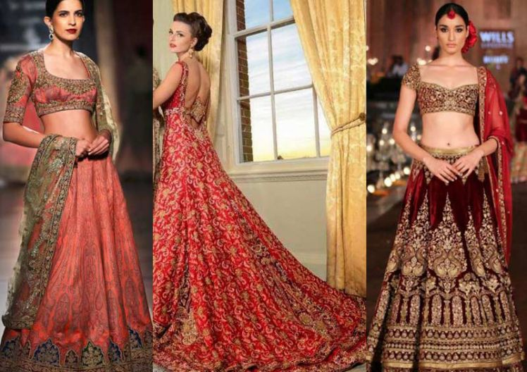 Latest Color Trends In Indian Bridal Wear -- Shaadi-e-Khas
