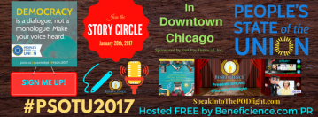#PSOTU2017 Chicago LIVE Story Circle Hosted By SpeakInToThePODLight Radio Show