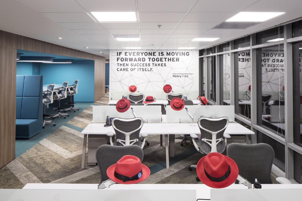 dise o de oficinas corporativas de red hat aei