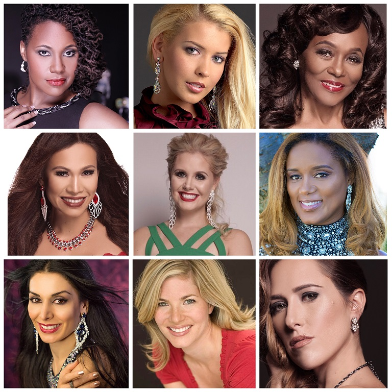 The Mrs. DC America 2017 Contestants