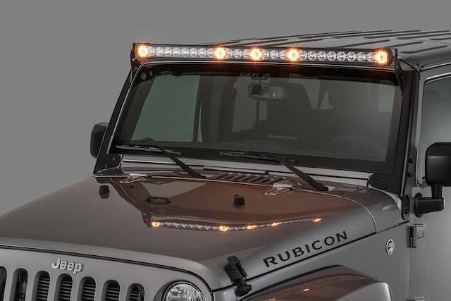 Quadratec S J5 Dual Purpose Led Light Bar Now Available For Jeep Tj